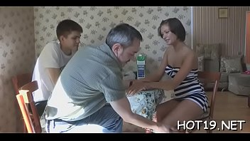 appetizing jerking and cock mature hottie young fucking sucking Bukake drinks one girl of many boys movie downlode