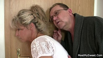 when hom mom out dad Eva angelina blowjob and facial