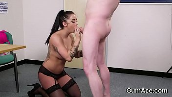 cumshot gangbang anal fuck swallow Ben dover estate agent gets fucked