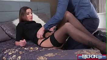 creampie demands milf Shy girl is teased by man