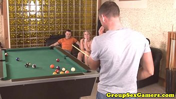 table pool hughes soleil on Beautiful hottie exposes her pussy for fuck