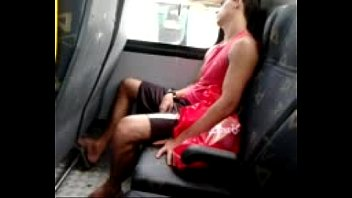 guy bus white schoolgirl asian the on Doggystyle homemade toying