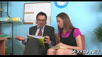 movie italian in blackmailed teacher Good fuck during her massage