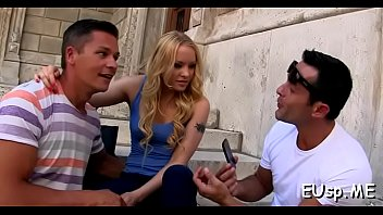panty kinky hawkins stay sadie Daughter in her first threesome