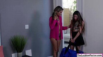 housewife lesbian seduced by reluctant neighbours Dani daniels rides black dick