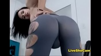 ass brunette with girl perfect Son rapping his mother